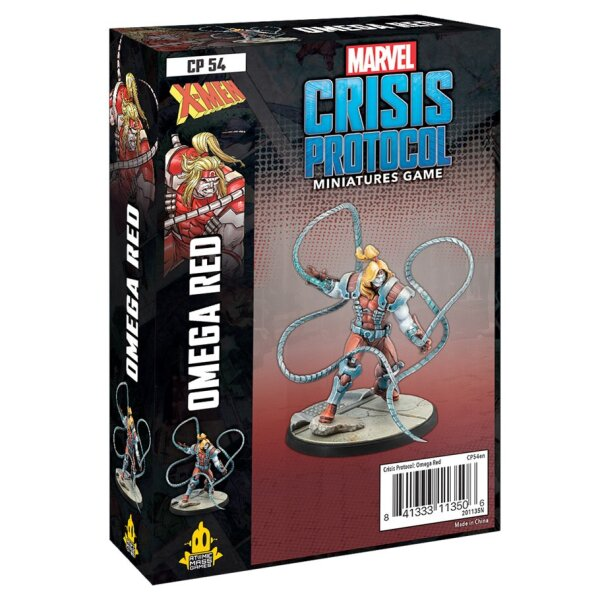 Marvel Crisis Protocol: Omega Red - English