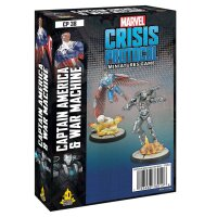 Marvel Crisis Protocol: Captain America & War Machine...