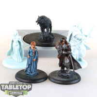 A Song of Ice & Fire - 5 Stark Starter Heroes -...
