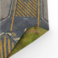 Playmats.eu - Infinity/Grasland Double-sided rubber Play Mat - 36x36 inches