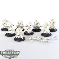 Protectorate of Menoth - 8 Flameguard Cleansers - unbemalt