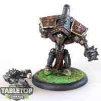 Protectorate of Menoth - Crusader Heavy Warjack - bemalt