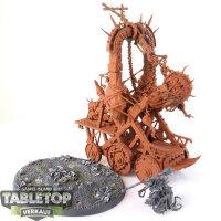Skaven - Plague Furnace - teilweise bemalt