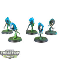 Nighthaunt - 5 Glaivewraith Stalkers - teilweise bemalt