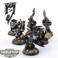 Orruk Warclans - 6 Ardboys - gut bemalt