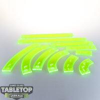 Star Wars X-Wing: Micro Art Sudios Movement Template Green
