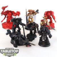 Blood Angels - 8 diverse Modelle - teilweise bemalt