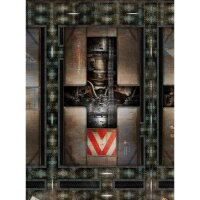 Playmats.eu - Engine Room Two-sided rubber Play Mat -...