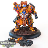 Warcaster - Marcher Worlds Combat Engineer - bemalt