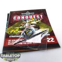 Warhammer Conquest Ausgabe 22 Base Pinsel und Farbe