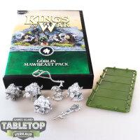 Kings of War - Goblin and Mawbeast Pack - unbemalt