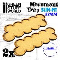 MDF Movement Trays 32mm x 10 - SLIM-FIT
