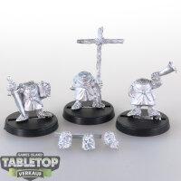 Macrocosm - 3 Crusader Dwarfs Pack 1 - unbemalt