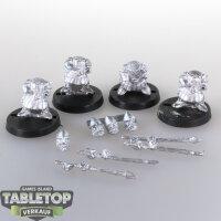 Macrocosm - 4 Norman Dwarfs Pack 7 - unbemalt