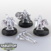 Macrocosm - 3 Spartaner Dwarfs - unbemalt
