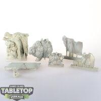 Scibor Miniatures - Dwarf General with Standard On War...