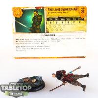 Malifaux - The Lone Swordsman - gut bemalt