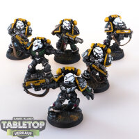 Space Marines - Imperial Fists 6 Sternguard Veteran - gut...