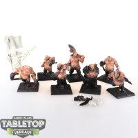 Scibor Miniatures - 8 Ogre Cossacks - teilweise bemalt