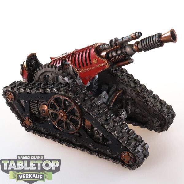 Adeptus Mechanicus - Mechanicum Krios Battle Tank - gut bemalt