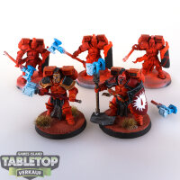 Blood Angels - Assualt Squad (5 Modelle, Umbau) -...