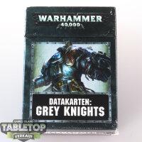 Grey Knights - Datakarten: Grey Knights (8te Edition) -...