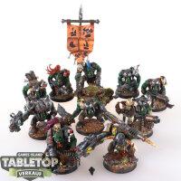 Orks - 10 Boyz klassisch - gut bemalt