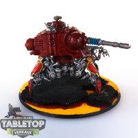 Adeptus Mechanicus - Onager Dunecrawler - gut bemalt