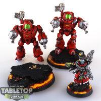 Adeptus Mechanicus - 2 Kastelan Robots - gut bemalt