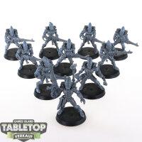 Craftworlds - 10 Guardians - unbemalt