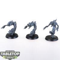 Daemons of Tzeentch - 3 Flamers of Tzeentch - unbemalt
