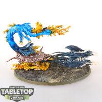 Daemons of Tzeentch - Burning Chariot of Tzeentch - bemalt
