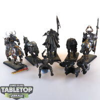 Slaves to Darkness - 5 Chaos Knights (Umbau) - teilweise...