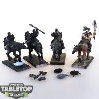 Slaves to Darkness - 4 Chaos Marauder Horsemen -...