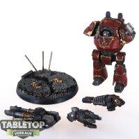 Chaos Space Marines - Word Bearers Legion Contemptor...