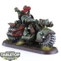 Chaos Space Marines - Chaos Biker - gut bemalt