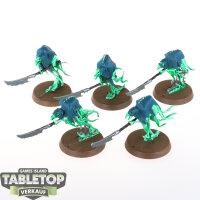 Nighthaunt - 5 Glaivewraith Stalkers - bemalt